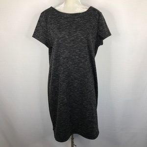 Lou & Grey Heather Gray Sweater Shirt Dress XXL